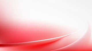 Abstract Glowing Red and White Wave Background Design