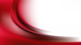 Red and White Wave Background