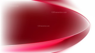 Red and White Wave Background Template Graphic