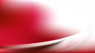 Red and White Abstract Wavy Background