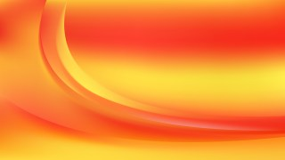 Red and Yellow Abstract Wavy Background Vector Graphic