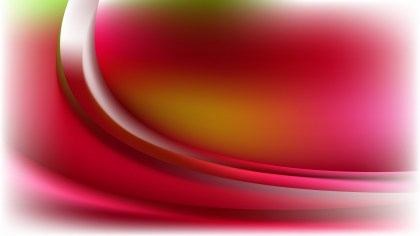 Red Green and White Abstract Wave Background Image