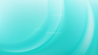 Turquoise Wave Background Vector Illustration