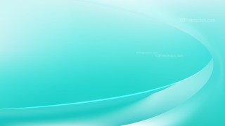 Abstract Turquoise Shiny Wave Background Vector