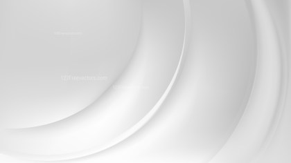 White Wave Background Template