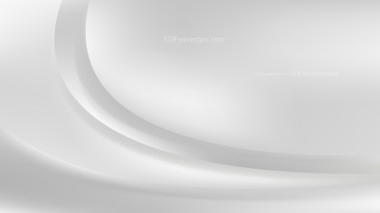 Glowing White Wave Background