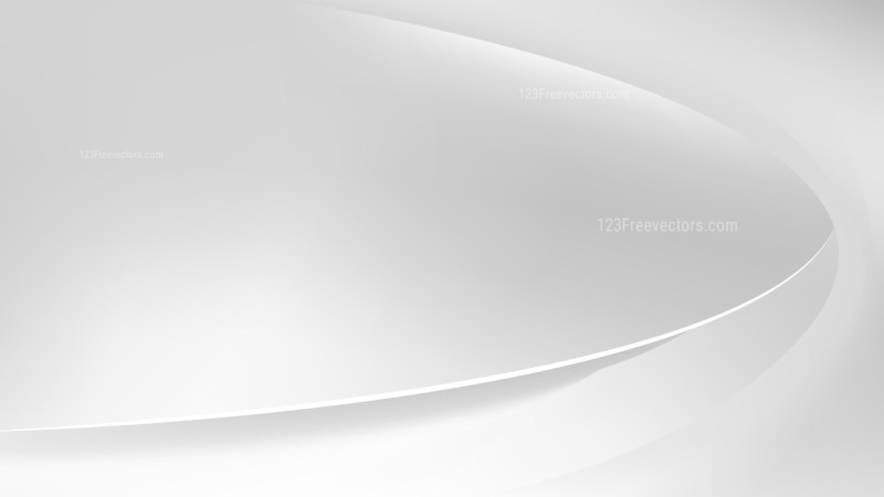 Abstract White Wavy Background Illustrator