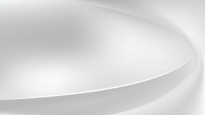 Abstract White Curve Background Vector Illustration