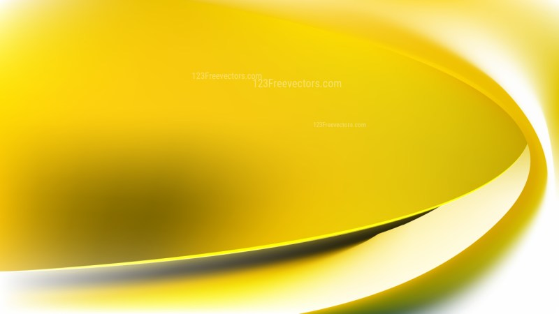 White and Gold Abstract Curve Background