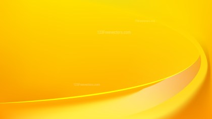 Yellow Abstract Wavy Background