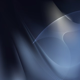 Black and Blue Flowing Lines Background