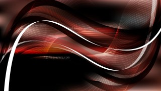 Black and Brown Flow Curves Background