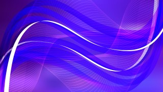 Blue and Purple Wavy Lines Background Template