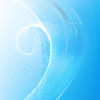 Abstract Blue and White Flow Curves Background Vector Image