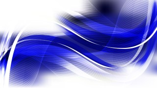 Blue and White Curved Lines Background