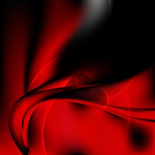 Cool Red Wave Lines Background Design Template