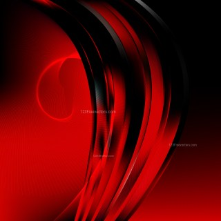 Abstract Cool Red Wave Lines Background