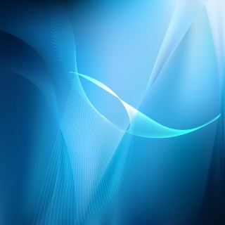 Dark Blue Flowing Lines Background