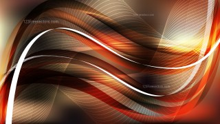 Dark Brown Flowing Curves Background Vector Graphic