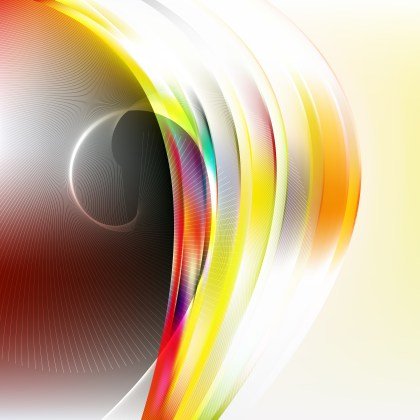 Dark Color Flowing Curves Background Vector Graphic