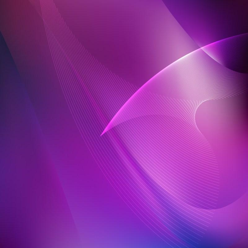 Dark Purple Wave Lines Background