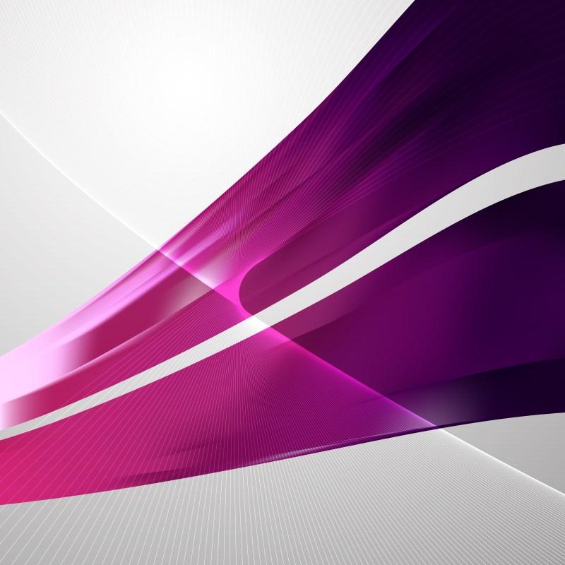 Dark Purple Flowing Lines Background Illustrator