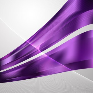 Dark Purple Wavy Lines Background Template