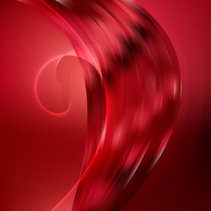 Dark Red Curved Lines Background Vector Illustration