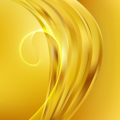 Gold Flow Curves Background