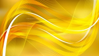 Abstract Gold Flowing Curves Background