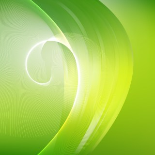Green Yellow and White Curved Lines Background