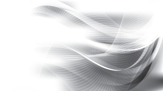 Abstract Grey and White Curved Lines Background