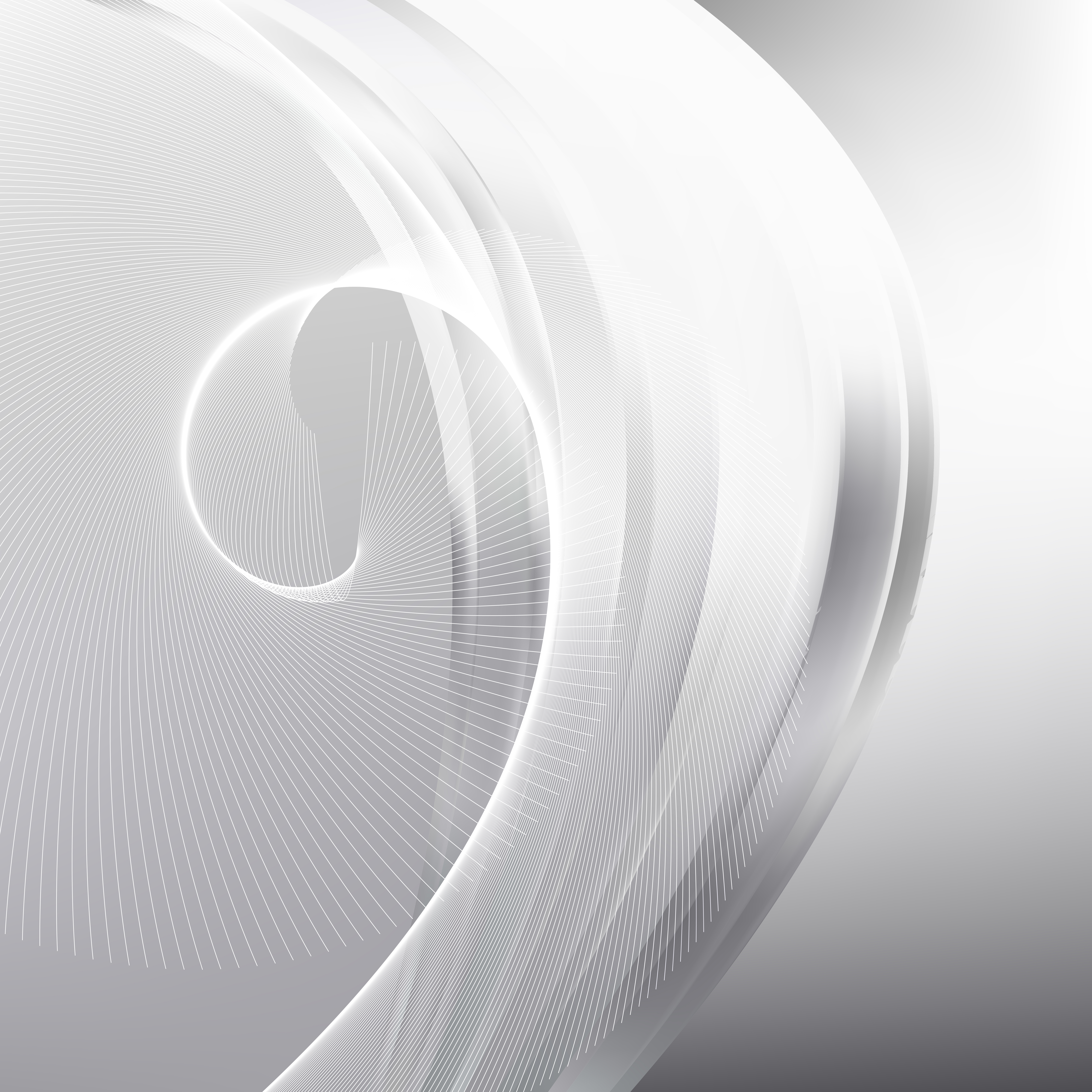 Free Abstract Flowing Line Background Vector