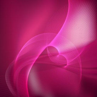 Hot Pink Flow Curves Background