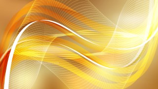 Orange Flowing Lines Background Illustrator