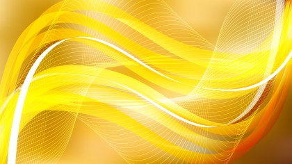 Orange Flow Curves Background Vector Image
