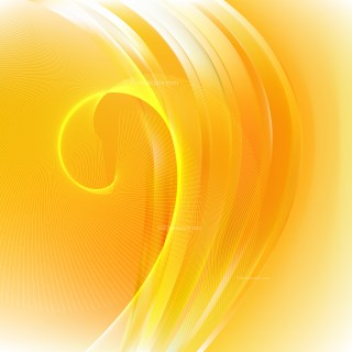 Orange Wave Lines Background