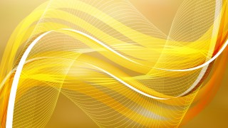 Abstract Orange Wave Lines Background