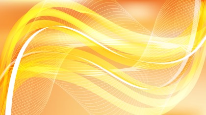 Orange Curved Lines Background