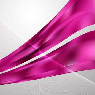 Abstract Pink Flowing Lines Background