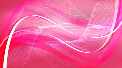 Abstract Pink Wave Lines Background