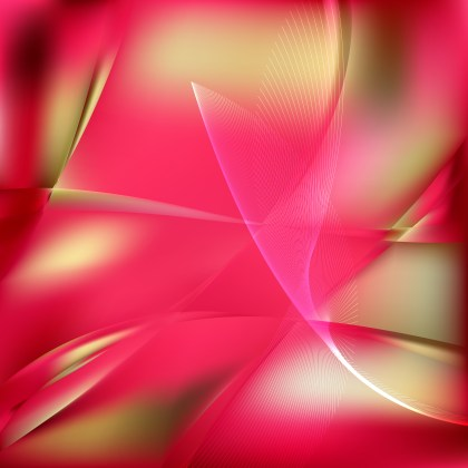 Pink and Beige Wave Lines Background