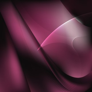 Abstract Pink and Black Flow Curves Background Vector Image