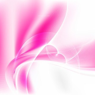 Pink and White Wavy Lines Background Template