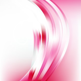 Pink and White Wave Lines Background