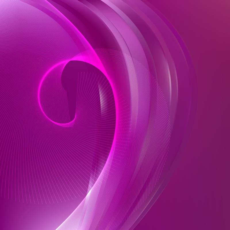 Purple Curved Lines Background