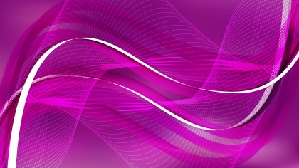 Purple Wave Lines Background