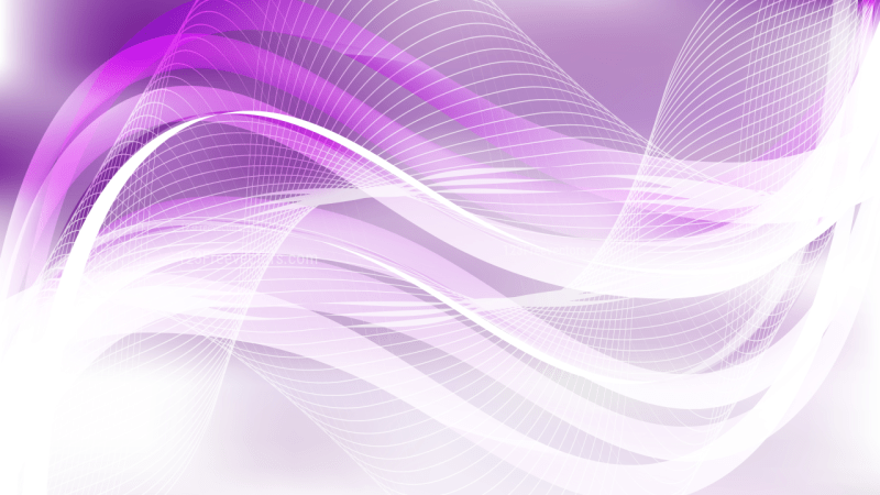 Abstract Purple and White Wave Lines Background Design Template