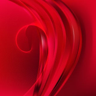 Abstract Red Wavy Lines Background