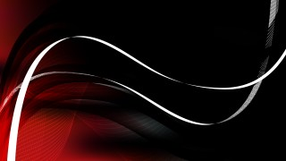 Red and Black Flowing Curves Background Vector Graphic